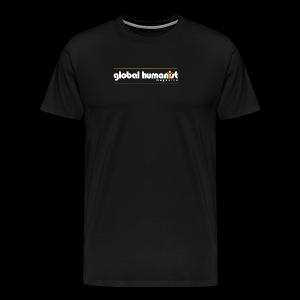 Global Humanist Long Form Logo - Men's Premium T-Shirt