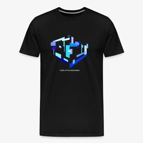 Isolated Rectangles - Men's Premium T-Shirt