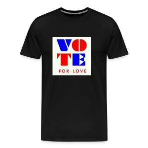 vote4love-sample - Men's Premium T-Shirt