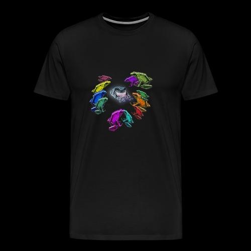 dance of 12 frogs - Men's Premium T-Shirt