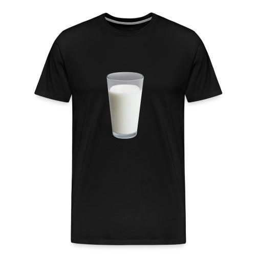 Milk On Shirt - Men's Premium T-Shirt