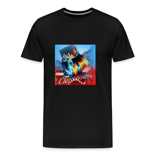Logo Clezoulou59 2016-2017 - Men's Premium T-Shirt