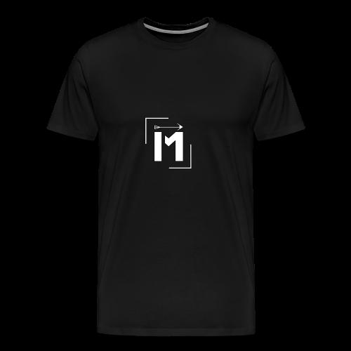 MADE white BrstPKT emblem - Men's Premium T-Shirt