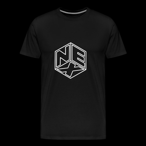 Nexagonal Logo (White) - Men's Premium T-Shirt