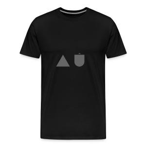 The A U Logo - Men's Premium T-Shirt