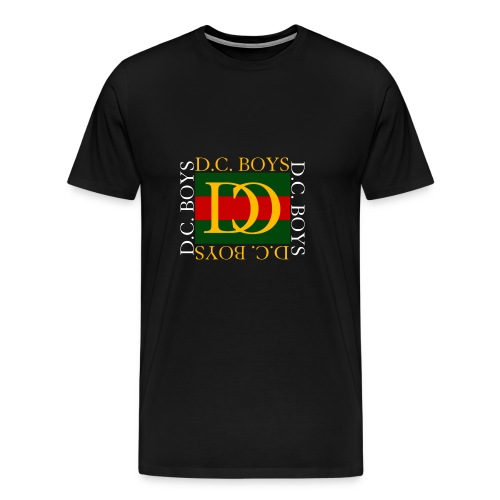 The D.C. Boys Gucci Red and Green square - Men's Premium T-Shirt