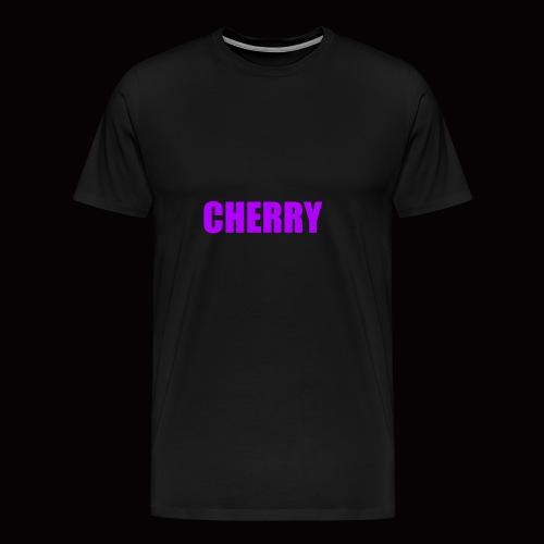 Cherry (Original Text Logo) Merch - Men's Premium T-Shirt