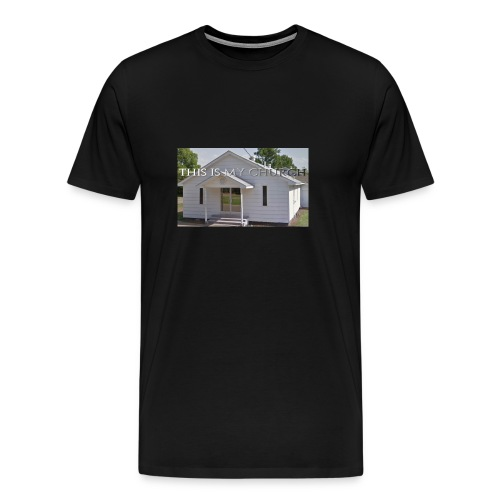MY CHURCH - Men's Premium T-Shirt
