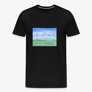 abstract nature - Men's Premium T-Shirt