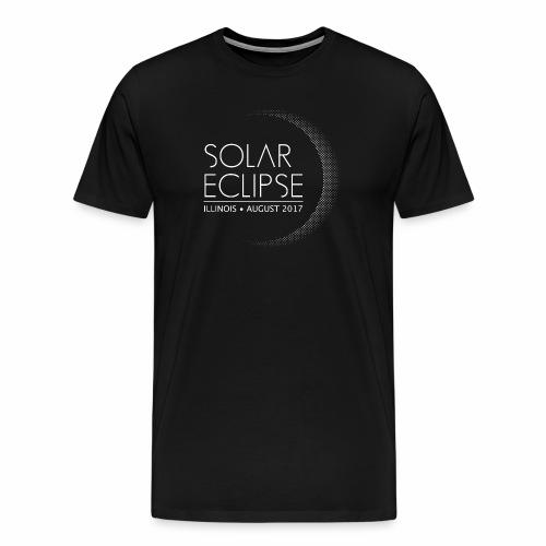 USA Illinois Solar Eclipse 2017 - Men's Premium T-Shirt