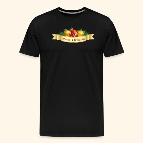 Merry Christmas To All - Men's Premium T-Shirt