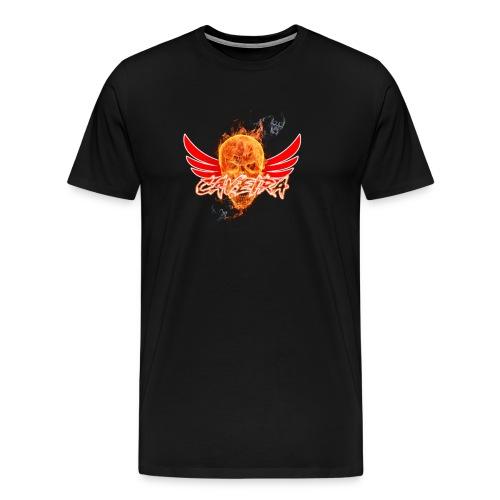 Camisa do canal CAVEIRA - Men's Premium T-Shirt