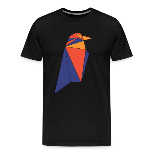 Ravencoin RVN Bird Logo - Men's Premium T-Shirt