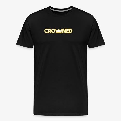 CROWNED shirt - Men's Premium T-Shirt