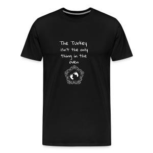 Baby Pregnancy Announcement and Thanksgiving Shi - Men's Premium T-Shirt