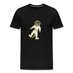 Outer-Space Astronaut Kitty - Men's Premium T-Shirt