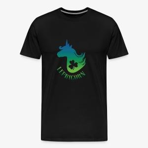 Unicorn Leprechaun St Patricks day - Men's Premium T-Shirt