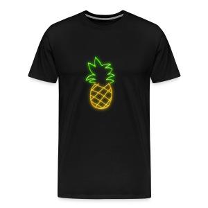 NEON PINEAPPLE - Men's Premium T-Shirt
