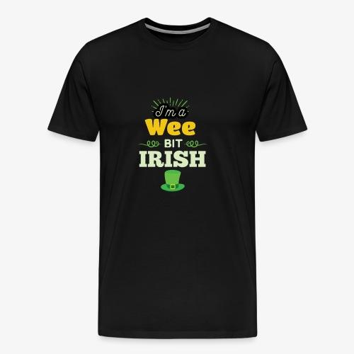 Funny Leprechaun Happy St Patricks Day - Men's Premium T-Shirt
