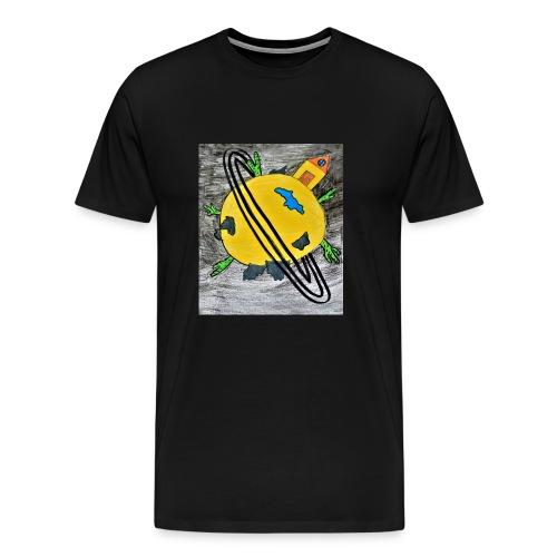 desert planet - Men's Premium T-Shirt