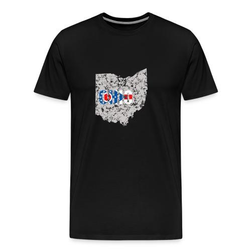 Ohio Flag - Men's Premium T-Shirt