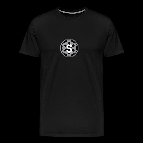 Stormy's official 'Atari' style logo - Men's Premium T-Shirt