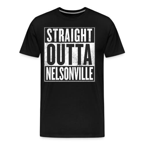 Straight Outta Nelsonville - Men's Premium T-Shirt