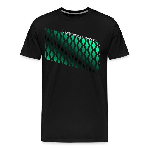 Diamond Pattern By Lone Wolf Nation - Men's Premium T-Shirt