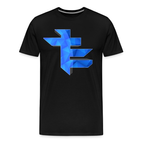 Simple LightningTE Logo - Men's Premium T-Shirt