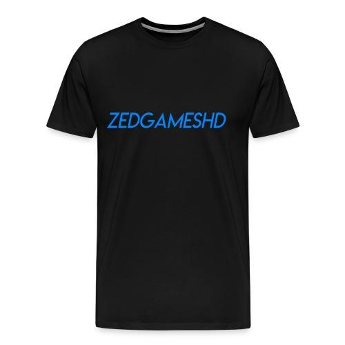ZedGamesHD Logo - Men's Premium T-Shirt