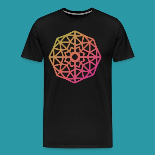 Inverted Snowflake - Men's Premium T-Shirt