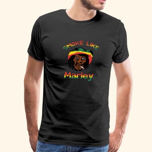 Smoke Like Marley - Men's Premium T-Shirt