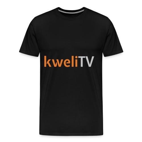 kwelitv logo just - Men's Premium T-Shirt