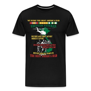 We Were The Best American HAD with Helicopter - Men's Premium T-Shirt
