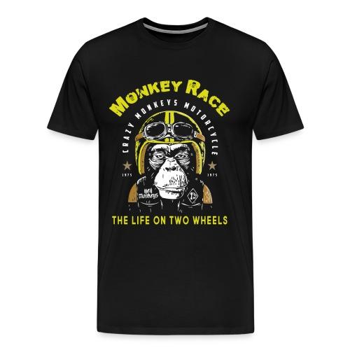 MONKEY RACE - Men's Premium T-Shirt