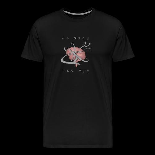 Go grey for May - Men's Premium T-Shirt