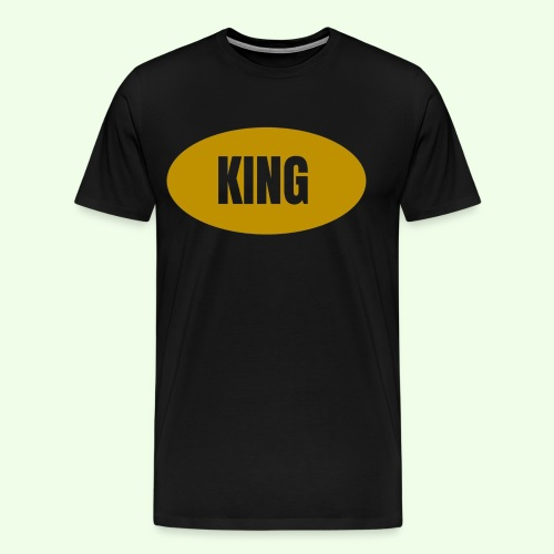 Drake King Design - Men's Premium T-Shirt