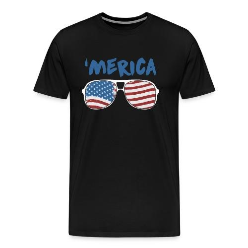 Merica 4th of July - Men's Premium T-Shirt