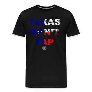 TEXAS DONT TAP LIMITED EDITION- HARVEY RELIEF - Men's Premium T-Shirt