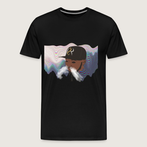Hustle Vision Design - Men's Premium T-Shirt