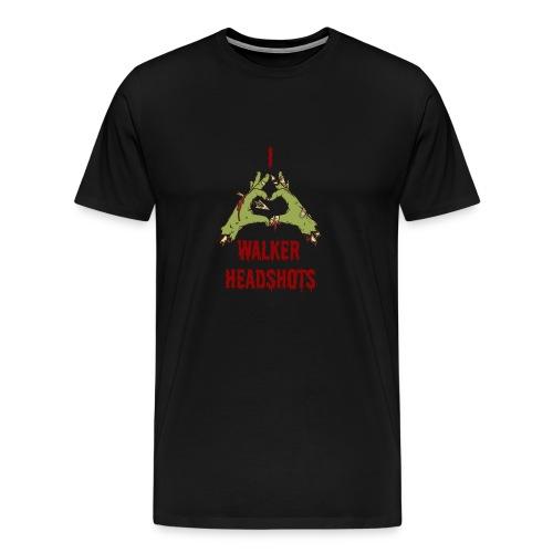 Love Walker Head Shots - Men's Premium T-Shirt