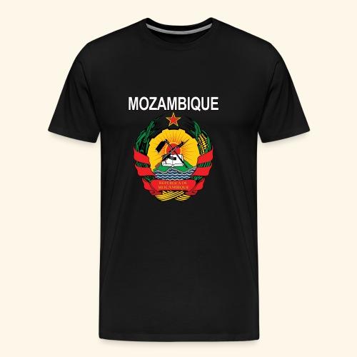 Mozambique coat of arms national design - Men's Premium T-Shirt