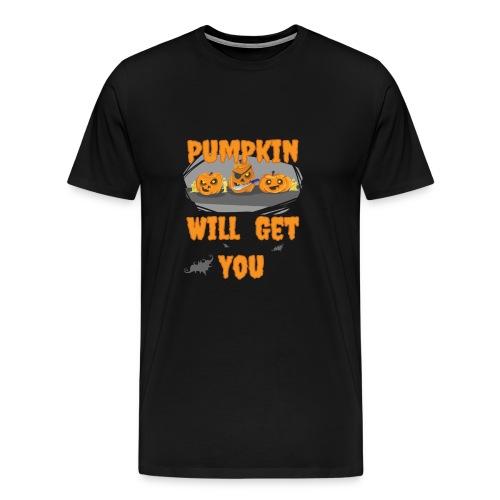 PUMPKIN HALLOWEEN PIRATES - Men's Premium T-Shirt