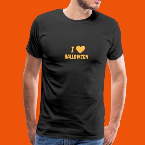 I Love Halloween - Men's Premium T-Shirt