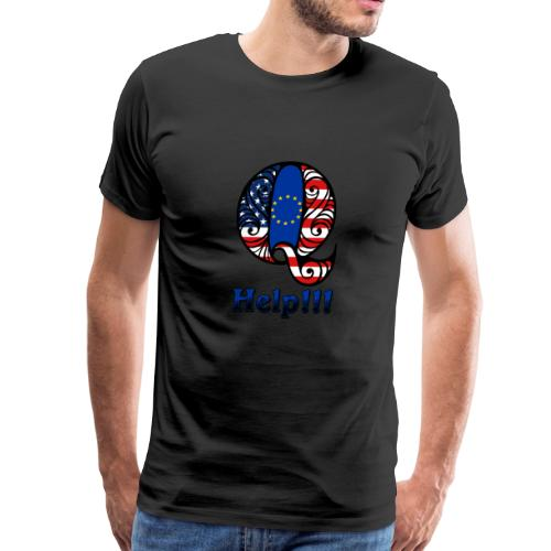 Q Help - Men's Premium T-Shirt
