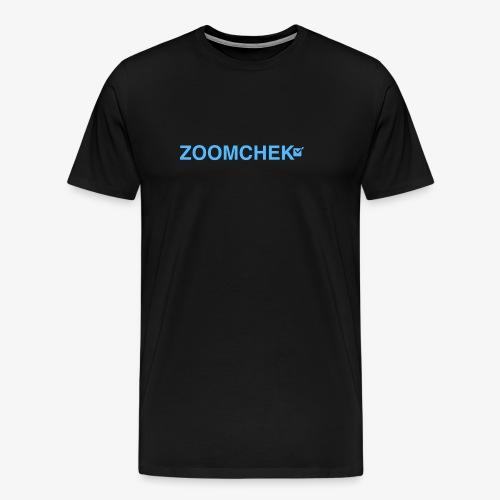 ZOOMCHEK COMlogo 2 e1484547705940 1024x151 - Men's Premium T-Shirt