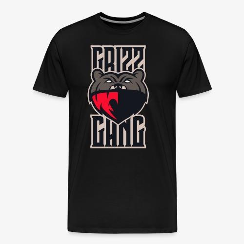 Grizz Gang Loud and Proud (CoLyFTW Colors) - Men's Premium T-Shirt
