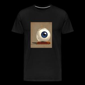 small Big eye robot - Men's Premium T-Shirt