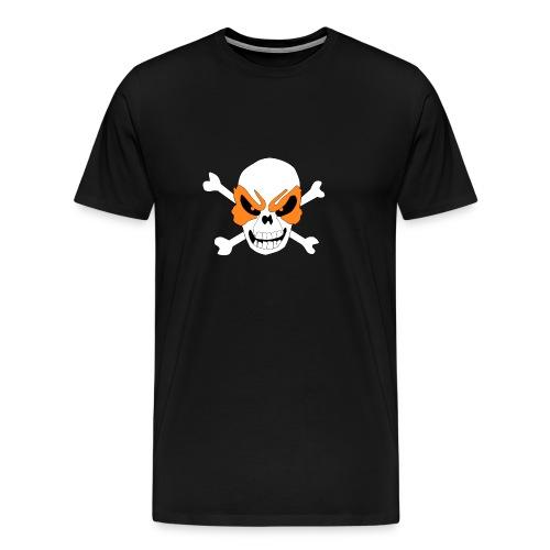 Fiery Skull - Men's Premium T-Shirt