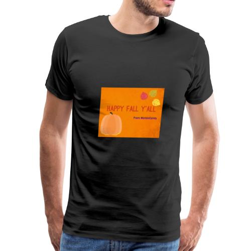 Happy Fall Y'all - Men's Premium T-Shirt